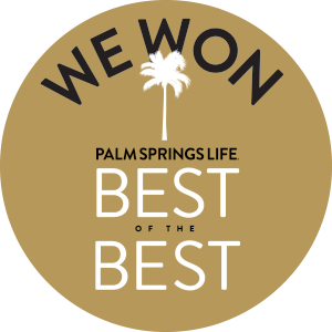 We Won Best of Palm Springs